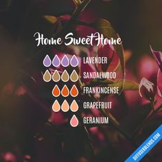 Home Sweet Home - Essential Oil Diffuser Blend