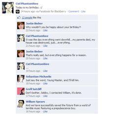 Black Butler (kuroshitsuji) should have just let Sebastian kill him... So true