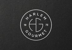 Harlem Gourmet by Work , via Behance