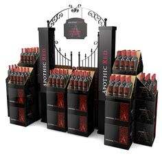 Wine Friends Girlfriends - - - - Wine Rack On Counter - Pos Display, Bottle Display, Wine Display, Store Displays, Display Design, Retail Displays, Pop Design, Wine Design, Apothic Wine
