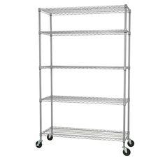 Hdx 5 Shelf 36 In W X 16 In L X 72 In H Storage Unit