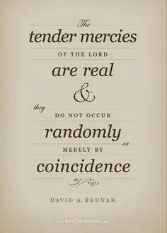 Tender mercies - Elder Bednar #lds #mormon