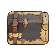 "Steampunk Luggage 15"" Laptop Sleeve"