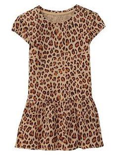 Leopard print dress | Gap  Cecelia insisted : )