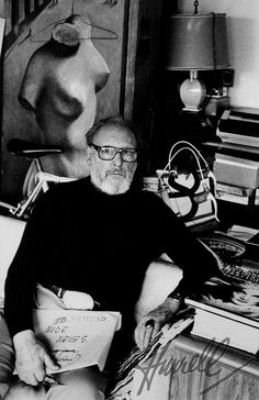   George Hurrell by Helmut Newton,1980 talk about legends!