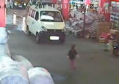 This clip of surveillance-camera footage is very much worth avoiding. Trust me on the grisly essentials: a two-year-old is toddling across a market street …