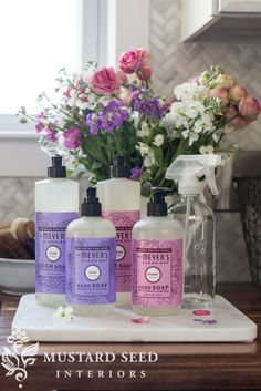 miss mustard seed | grove collective | free Mrs Meyers products    Read about Miss Mustard Seed's favorite natural household products and get a chance for a free order.