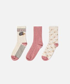 Hedgehog Socks #oysho #socks I HAVE THESE!!!