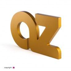 Classic Metal Letter 20 - lettere verniciate finitura metalliche. un tocco creativo in più per la tua insegna Metallica, Symbols, Glyphs, Icons