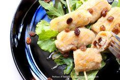 Profumo di cannella: Involtini di maiale con uva passa e pecorino - e l...