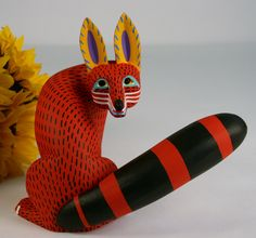 oaxacan wood art -