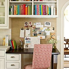 The Updated Traditional Kitchen | Stylish Desk | SouthernLiving.com