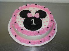 21 ideas baby first birthday girl smash cakes minnie mouse for 2019 Bolo Da Minnie Mouse, Minnie Mouse Birthday Cakes, Minnie Cake, Mickey Mouse Clubhouse Birthday, Baby Girl 1st Birthday, First Birthday Cakes, Birthday Ideas, Mini Mouse Cake, Cupcakes