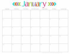 Free Printable 2014 Calendar