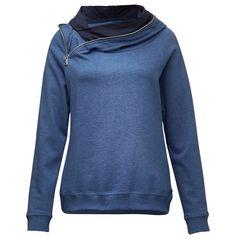 Melange-Hoody Sweatshirt