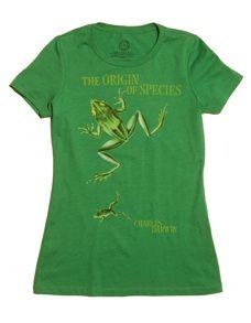 The Origin of the Species T-Shirt. Yessss.