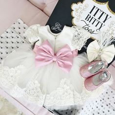 Princess Julia Dress ✖️ Pink Sequin Shoes ✖️ matching headpiece  Click link in bio to shop  Or go to: http://www.ittybittytoes.com/products/princess-julia-dress?utm_source=shopkey