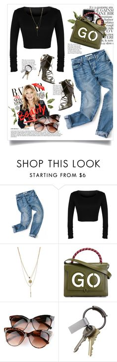 """Sassyselfie.com"" by yexyka ❤ liked on Polyvore featuring Chanel, Anja, Topshop, Anya Hindmarch, CB2 and Tom Ford"