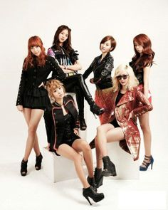Name: EXID Debut: 2012 Members: Solji, Hyojin, Heeyeon, Hyerin, Junghwa Former Member(s): Hyeoyeon, Haeryung, Yuji