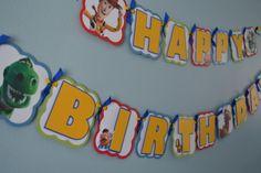 Toy Story Birthday Banner by MemoriesBlossom on Etsy, $25.00