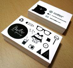 Bubi Au Yeung - Business Card Design Inspiration | Card Nerd