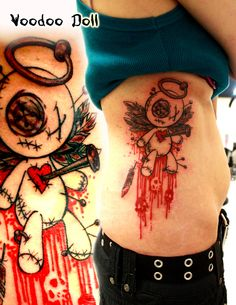 Voodoo Doll my all time fave tattoos are voodoo dolls