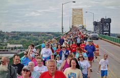 Attention, walkers! The 2017 International Bridge Walk is being held on June 24! Check out the Soo Blog for more information!