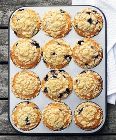 Amerikkalaiset mustikka-murumuffinssit   Maku Sweet Pastries, Food Illustrations, Desert Recipes, Cupcake Cakes, Cupcakes, Food Inspiration, Sweet Tooth, Bakery, Deserts
