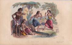 Iles de Tonga Tonga Tabou Tongas Combat Femme Pugilat Tatouage Polynésie TATOO