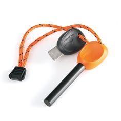 Light My Fire Swedish FireSteel 2.0 Army 12,000 Strike Fire Starter with Emergency Whistle