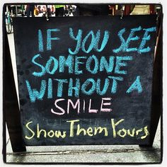 Just a reminder to Share your beautiful #smile with the world!  I ❤️ #NYC #wisdom  #MurrayHill http://www.yogatees-nyc.com