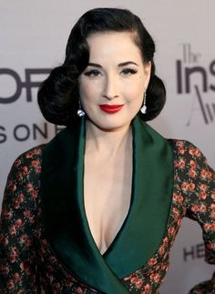 "Dita Von Teese Photos Photos - Model Dita Von Teese attends the Second Annual ""InStyle Awards"" presented by InStyle at Getty Center on October 24, 2016 in Los Angeles, California. - InStyle Presents the Second Annual InStyle Awards - Red Carpet"