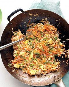 Pork Fried Rice Recipe -- a great one-pot dish