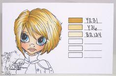 Heather's Hobbie Haven: Hair Color - YR31, Y36 & BR134