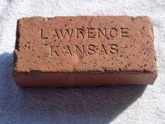 Rare-Vintage-Lawrence-Kansas-Kansas-University-KU-Jayhawk-Brick