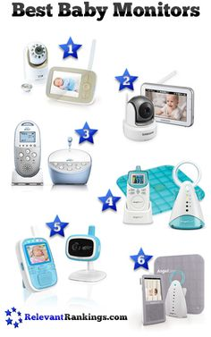 Reviews of the best baby monitors as rated by RelevantRankings.com.  Last Updated on 3/15/2016.