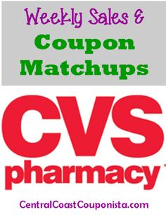CVS Coupon Matchups: Oct 19 - 25