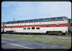 Original Auto-Train Full Dome Passenger Car.