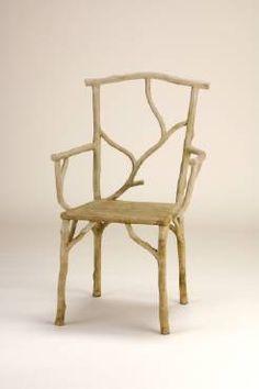 Beaujon Faux Bois Arm Chair More