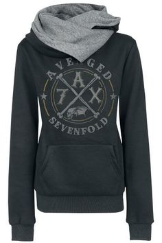 Avenged Sevenfold~ I need this! I only get hoodies of my absolute favorite bands!