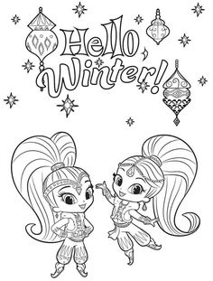 Shimmer And Shine Coloring Pages To Print 30 Magical Shimmer And Shine Coloring Pages. Shimmer And Shine Coloring Pages To Print Coloring Ideas Colori. Halloween Coloring Pages, Coloring Pages For Girls, Cartoon Coloring Pages, Coloring Pages To Print, Coloring Book Pages, Printable Coloring Pages, Coloring For Kids, Coloring Sheets, Adult Coloring