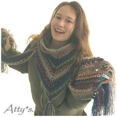 atty's: Wanderlust Sjaal Patroon