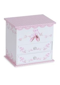 Mele & Co. Girls' Angel Girl's Musical Ballerina Jewelry Box - Pink - One Size