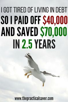 This post details how the author was able to pay off debt he owned to the creditors and saved more than $70K in under only 2.5 years. The author wishes to provide inspiration to those going through the struggles associated with debt or attempting to pay off debt.
