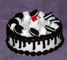 Cookies n Cream Treasure Cake PDF crochet pattern. $5.95, via Etsy.