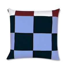 Marimekko Kukko Ja Kana Bright Multicolor Throw Pillow Surprise yourself with the Marimekko Kukko Ja Kanna Bright Multicolor Throw Pillow. The cushion cover is cut directly from the fabric which has a long repeat, so the color of the squares will vary. Decorative Pillows, Decor Pillows, Throw Pillows, Marimekko Bedding, Pillow Shams, Duvet, Make Your Bed, Sheet Sets, Cushions