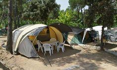 Tunneltent huren  Een tunneltent is vergelijkbaar met een bungalowtent.  #camping #tent