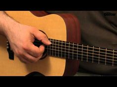 Ed Sheeran-style acoustic guitar lesson - Percussive backbeat (TG230) - YouTube