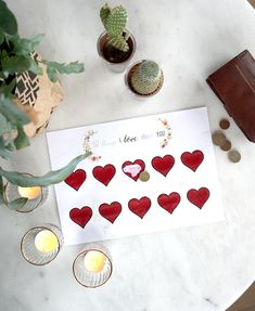 Valentine DIY (+free printable) http://www.dressesanddaisies.be/2018/01/10-things-i-love-about-you-kraslot-free.html