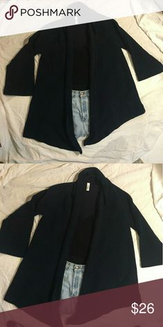 Navy Blue American Apparel XS/S Oversized Cardigan Dark Blue incredibly oversized Cardigan. American Apparel Sweaters Cardigans